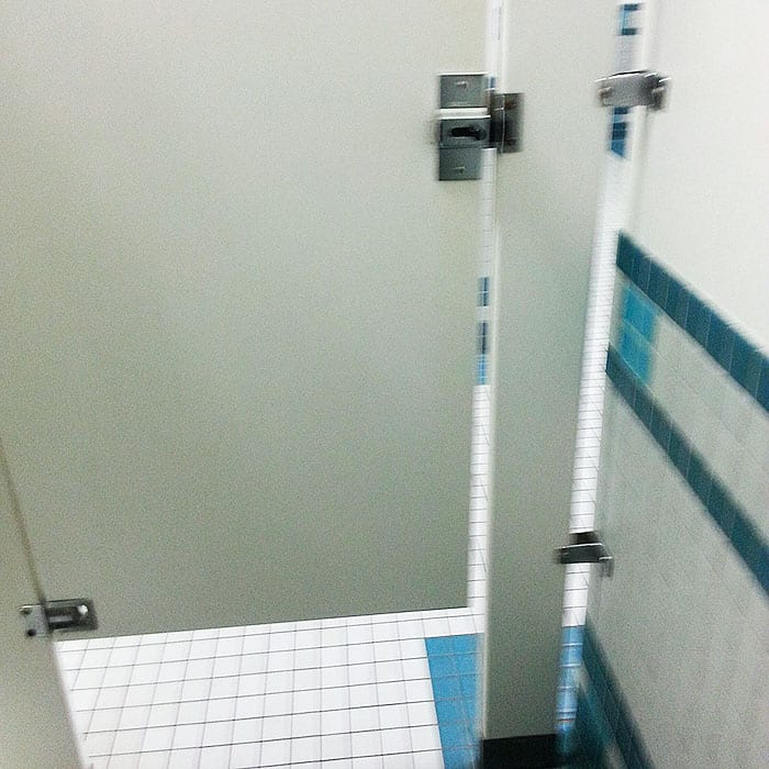 Annoying Things toilet door gaps