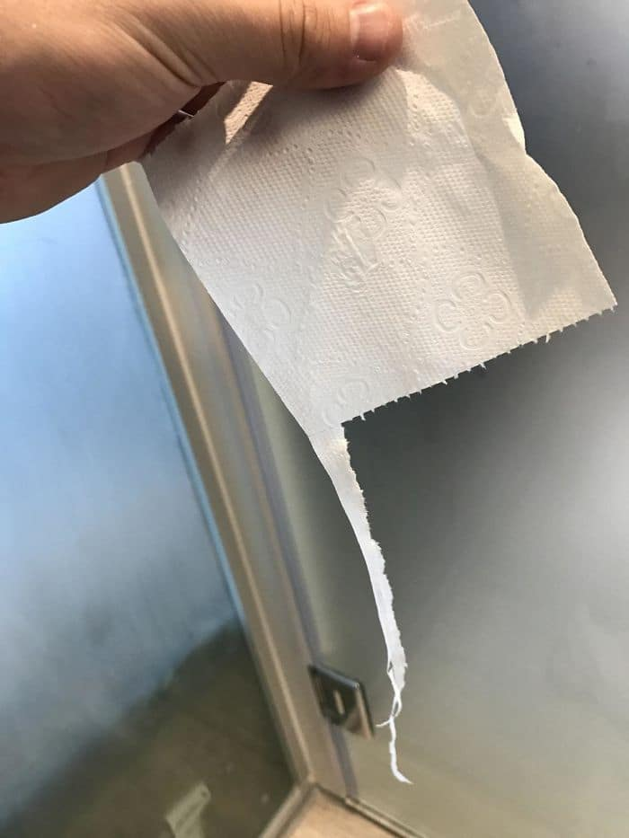 Annoying Things toilet paper uneven rip