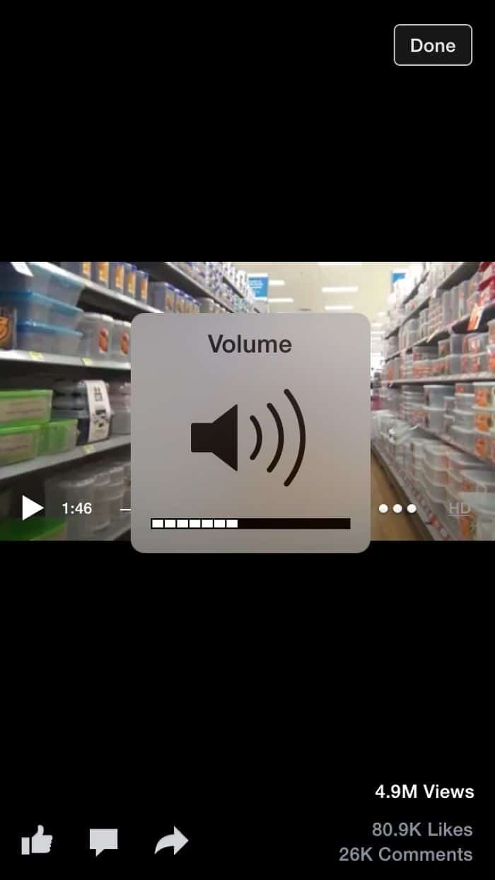 Annoying Things volume control in the way