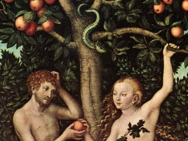 Astonishing Facts adam and eve apple
