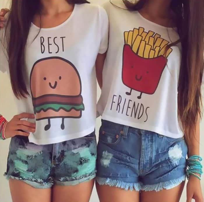 Awesome T-Shirt Pairs best friends