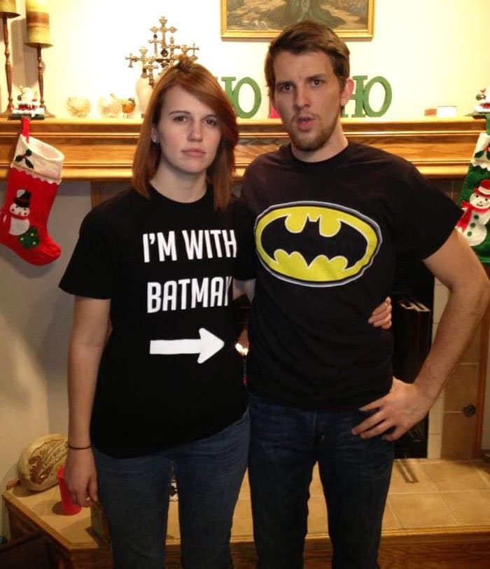 Awesome T-Shirt Pairs im with batman