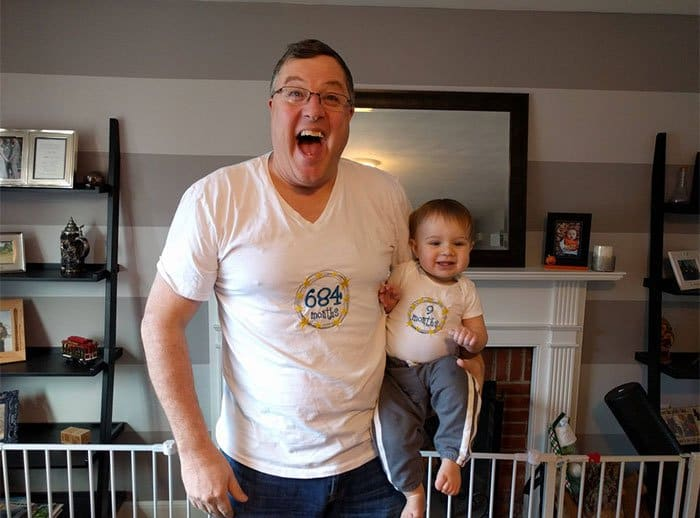 Awesome T-Shirt Pairs months old