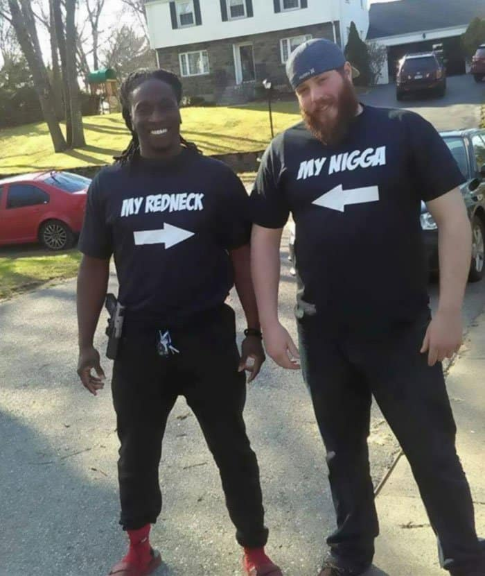 Awesome T-Shirt Pairs my redneck my ngga