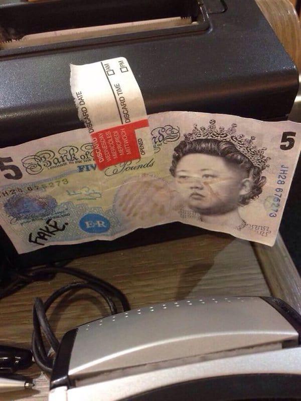 Bar And Restaurant Fails fake money