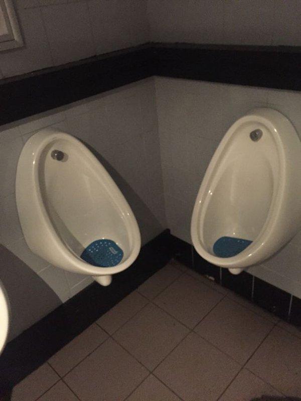 Bar And Restaurant Fails intimate urinals