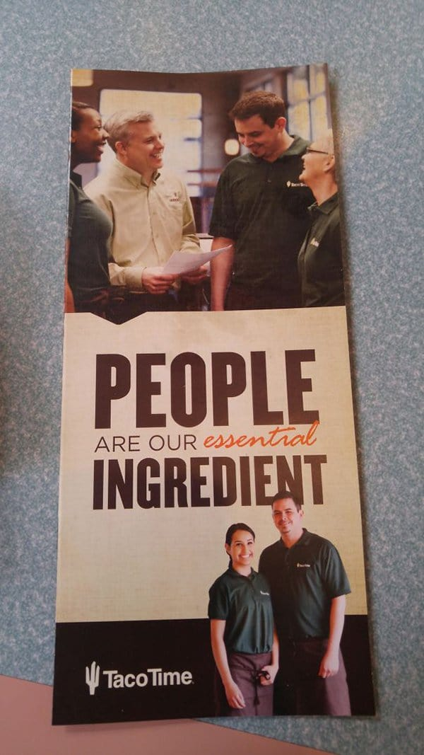Bar And Restaurant Fails people are our essential ingriedient
