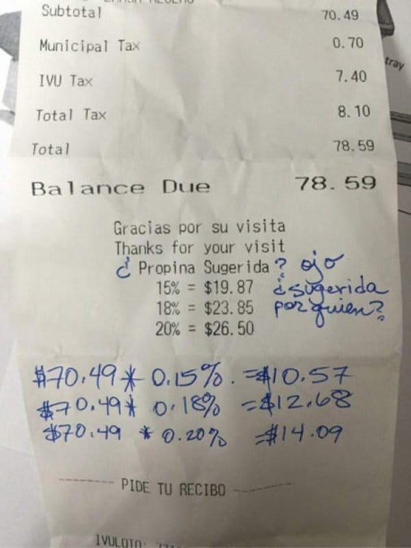 Bar And Restaurant Fails suggested tips