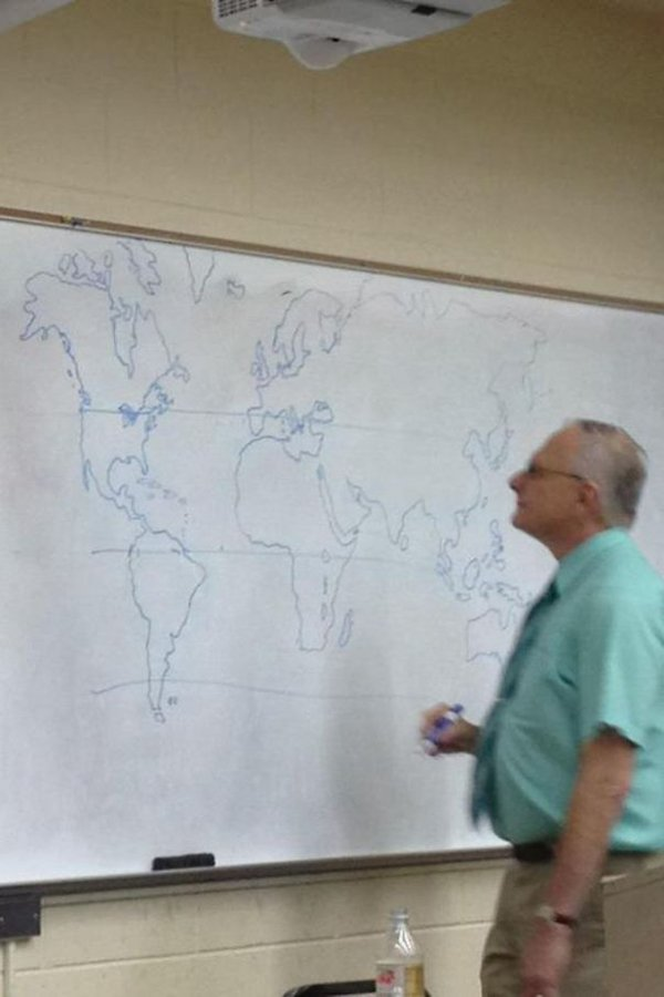Best Teachers drew a map