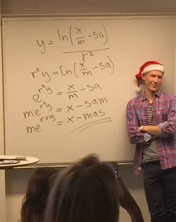 Best Teachers solves christmas equation