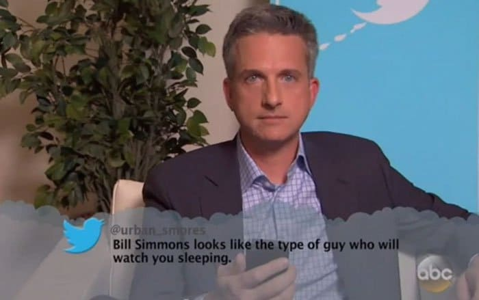 Brutal Tweets About Celebrities bill simmons