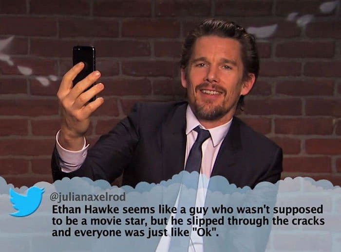 Brutal Tweets About Celebrities ethan hawke