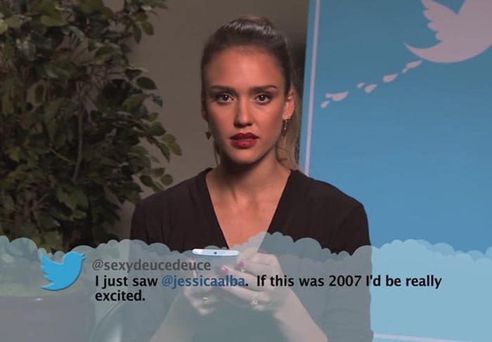 Brutal Tweets About Celebrities jessica alba