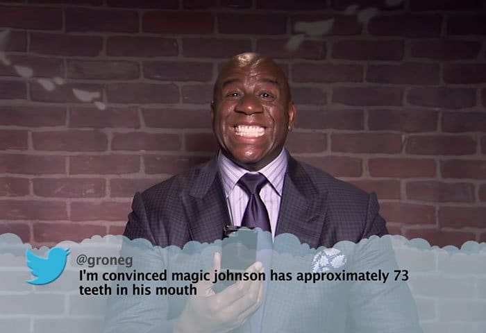 Brutal Tweets About Celebrities magic johnson