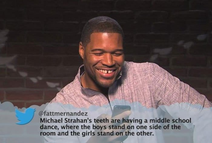 Brutal Tweets About Celebrities michael strahan