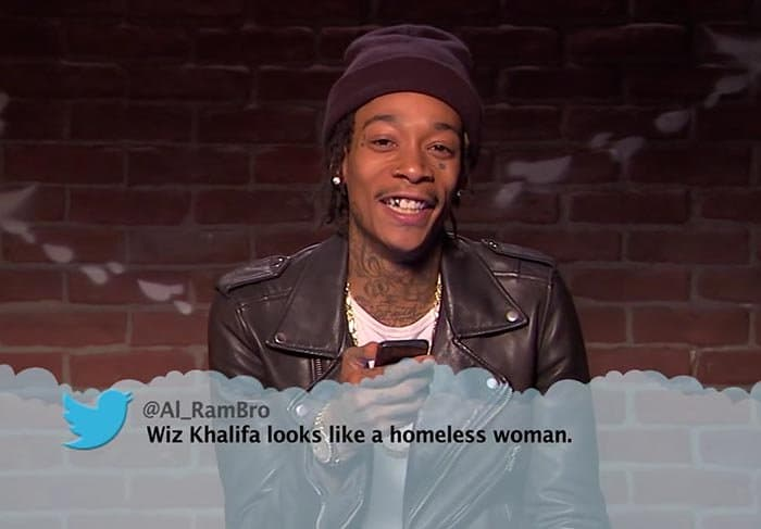Brutal Tweets About Celebrities wiz khalifa