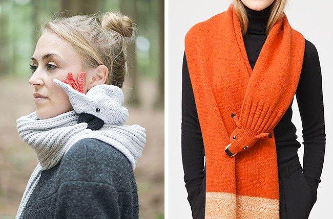 Cool Stuff animal scarf