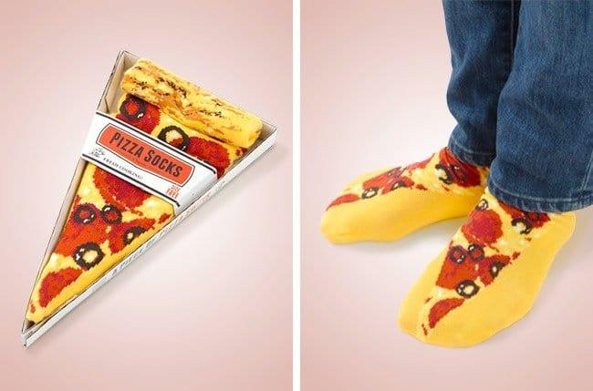 Cool Stuff pizza socks