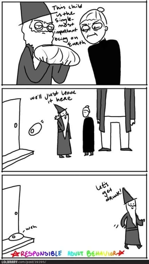 Dumbledore Memes leave harry potter with bad family