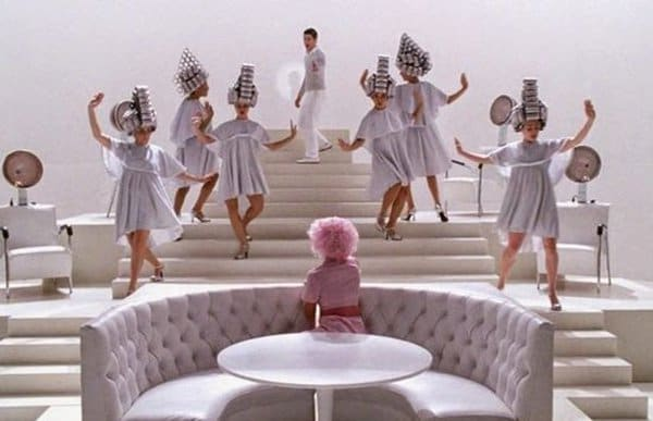 Facts About Grease beauty school drop out scene