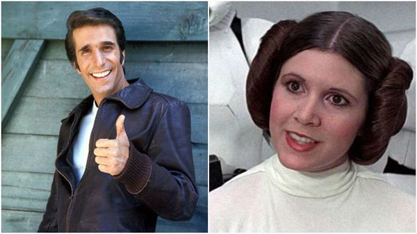 Facts About Grease henry winkler carrie fisher