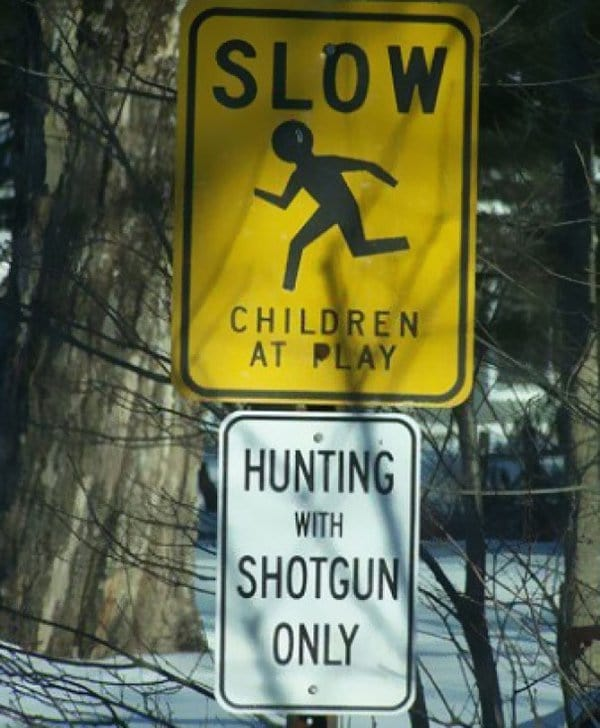Funny Design Fails hunting children at play