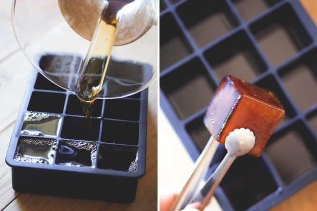 Ingenious Life Hacks coffee ice cubes