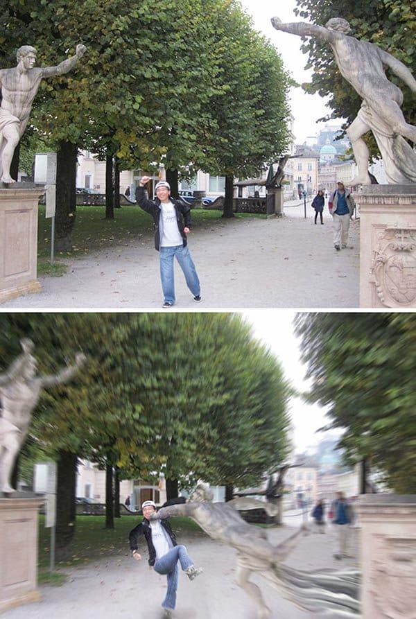 Korean Photoshop Masters dynamic pose statues