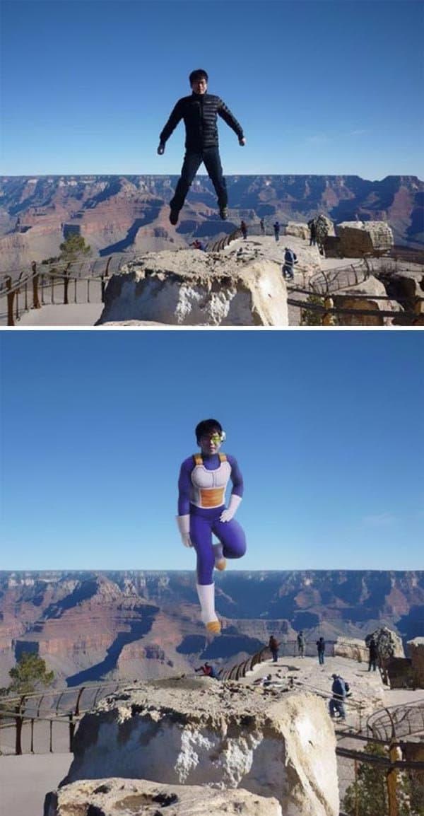 Korean Photoshop Masters grand canyon more realistic