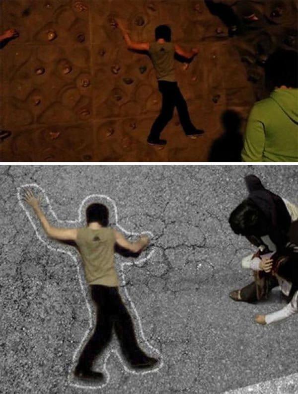 Korean Photoshop Masters make the background more dangerous
