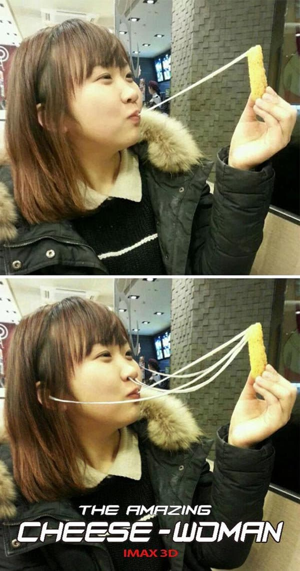 Korean Photoshop Masters make the cheese look better