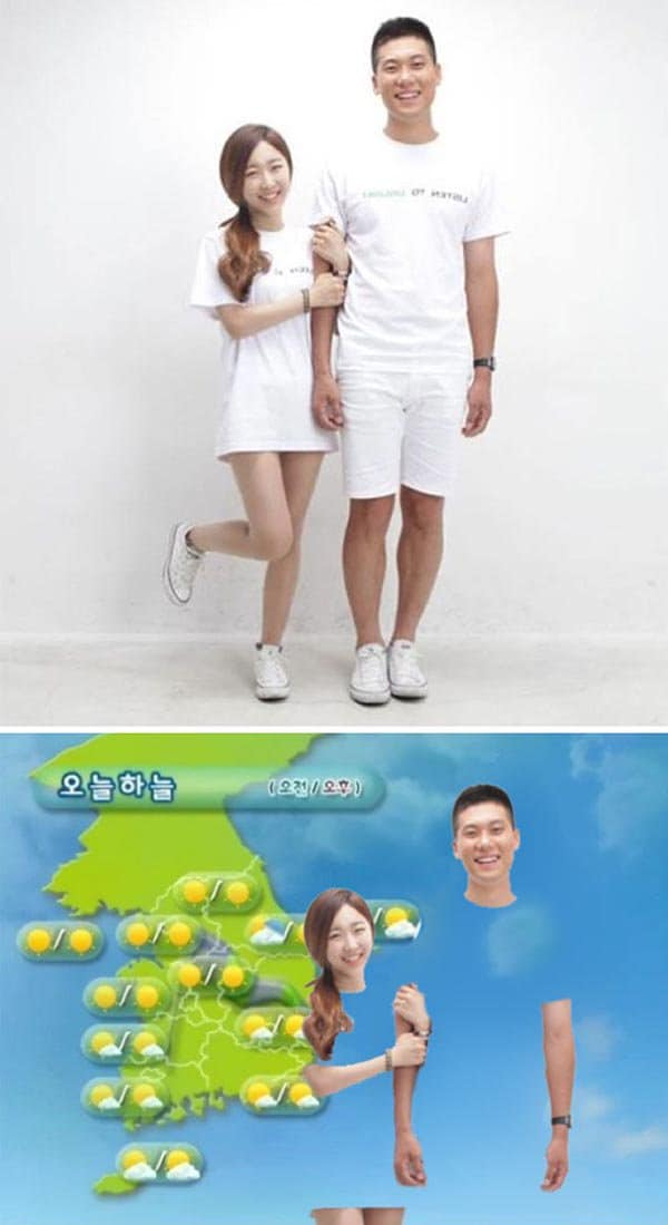 Korean Photoshop Masters white background seems empty