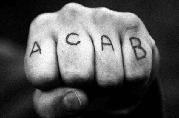 Meanings Of Prison Tattoos acab