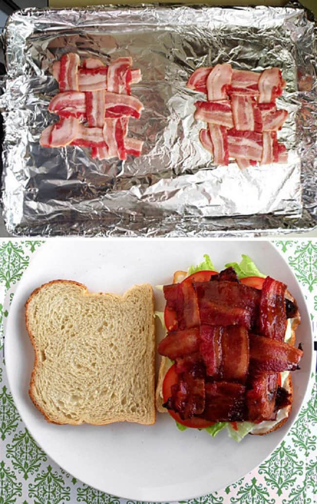 New Ways To Eat Your Favorite Snacks bacon folded