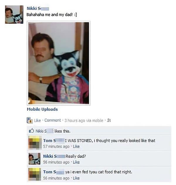 Parents Trolled Their Kids fed you cat food