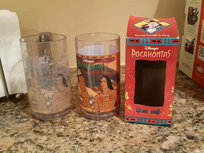 Pictures That Prove Time Changes Everything pocahontas cups 20 years apart