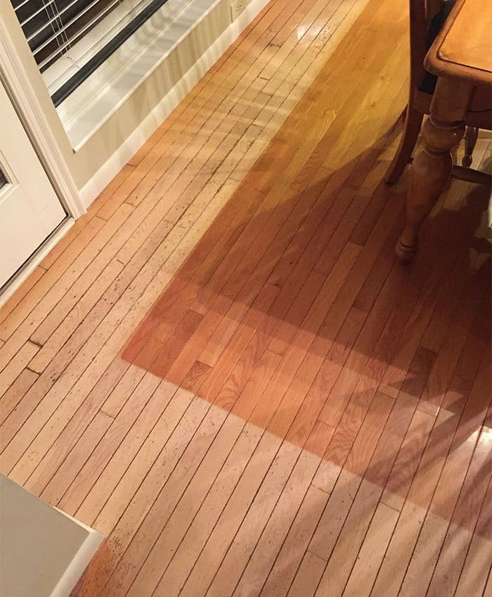 Pictures That Prove Time Changes Everything sunlight on hard flooring