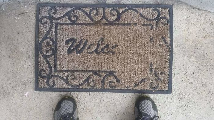 Pictures That Prove Time Changes Everything worn out welcome mat