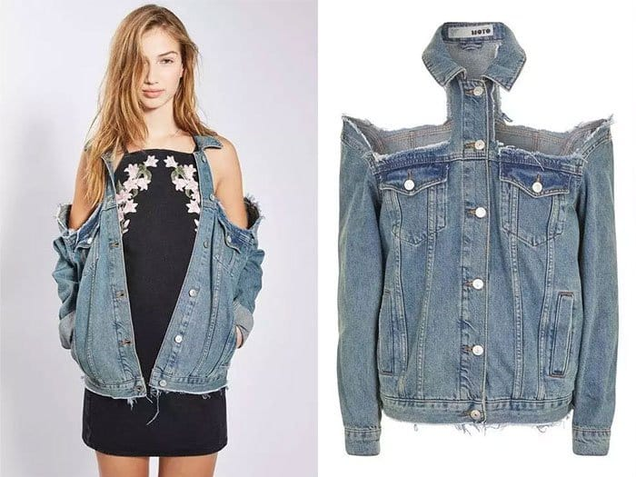 Ridiculous Clothing Items cold shoulder jacket