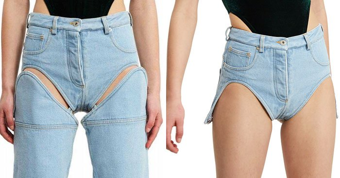 Ridiculous Clothing Items detachable jeans