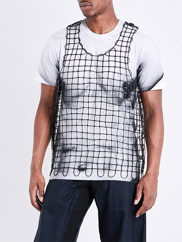 Ridiculous Clothing Items sleeveless rubber vest