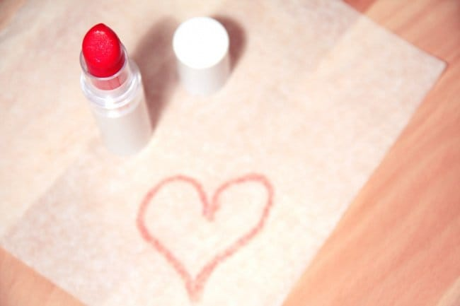 Things We Do Wrong lipstick hairspray