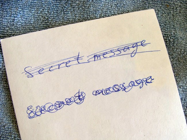 Things We Do Wrong secret message
