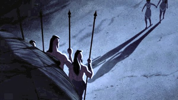 disney movie mistakes pocahontas holding hands