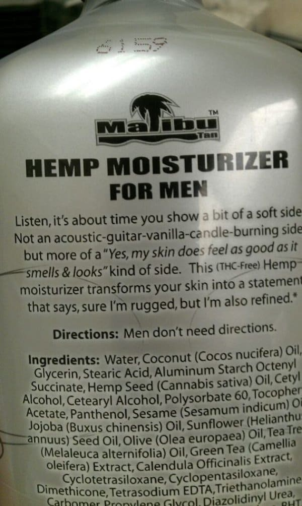 funny product instructions men dont need directions