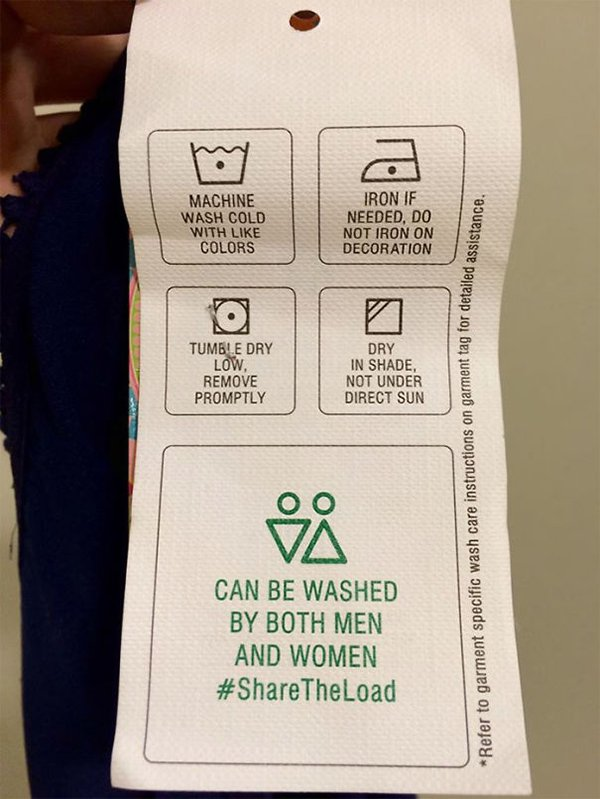 funny product instructions share the load