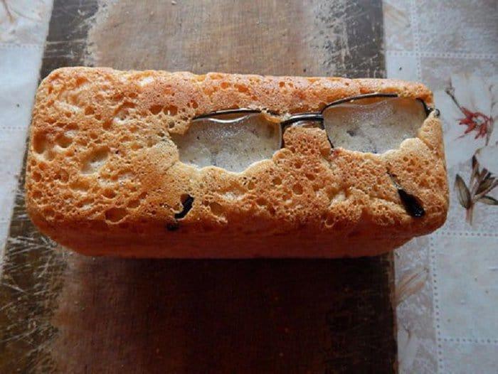 hilarious kitchen fails baked glasses