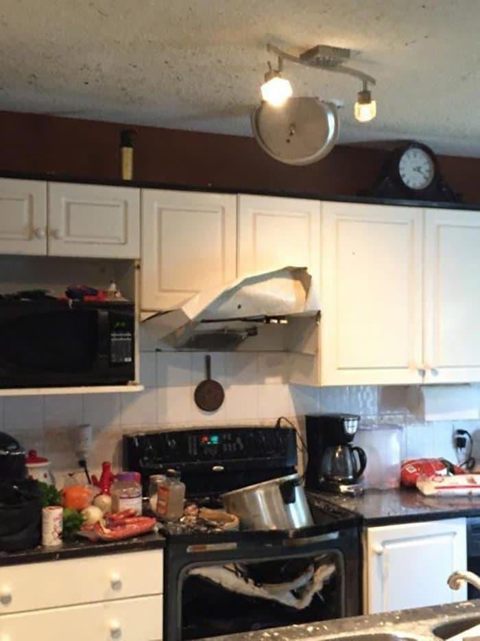 hilarious kitchen fails exploding pressure cooker
