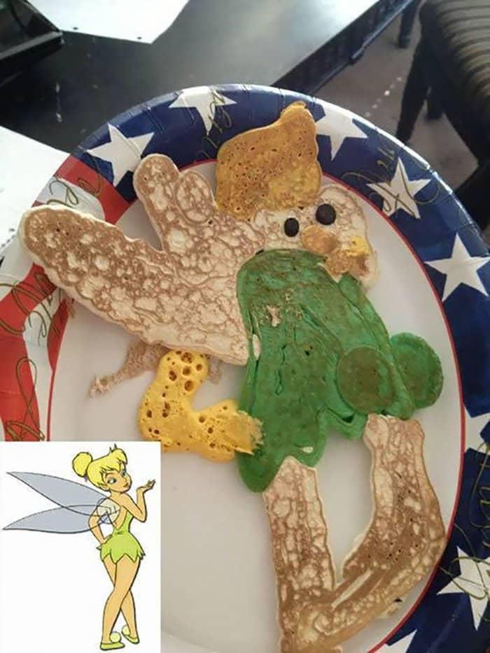 hilarious kitchen fails tinkerbell pancake