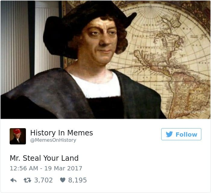 history memes mr steal your land